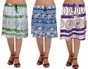 Tyre Patchwork Skirt