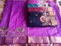 Zari Patta Cotton Silk