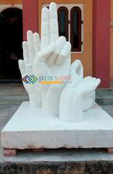 Statue in White Marble