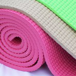 Novafit PVC Yoga Mat 6 mm with Yoga Bag