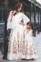 Mother Daughter Designer Wear Gown