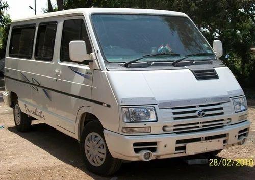 9 Seater Car >> Luxury Van 9 Seater Tata Winger On Rent In Mumbai In Borivali East