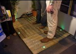 Fiber Optic Light in Floor