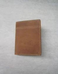 Brown Adel International Leather Mens Wallet