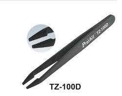 Flat Tips Pro'SKit Conductive Tweezers