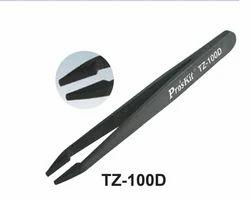 Conductive Tweezers (Flat Tips)
