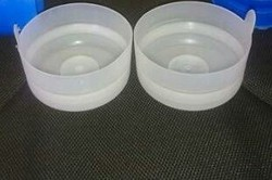Virigin Plastic Pure White 20 Liter Bubble Top Caps