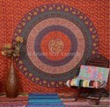 Multi Color Large Mandala Tapestry Indian Wall Hanging