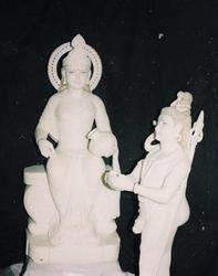 Marble Annapurna Statue