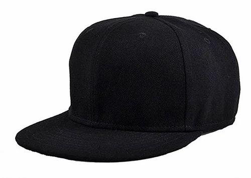6db118d6dc0 Premium Quality Black Colour Hip Hop Rapper Cap at Rs 99 /piece ...