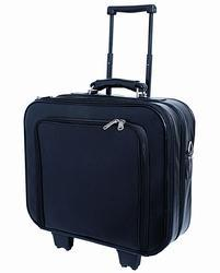 Tocco Polyester Blue Trolley Case, For Traveling