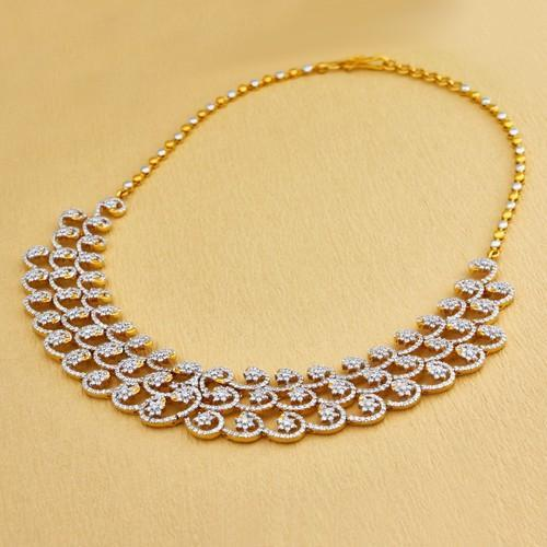 diamond diamomd at haar rs caspian necklace heere ka proddetail
