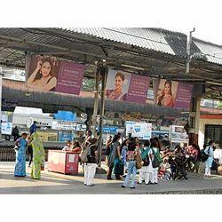 Railway Platform Board Advertising Service