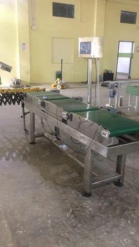 Online Checkweigher Belt Conveyor System Check Weigher