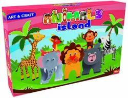 Boys Animal Island Creative Art & Craft Learning DIY Kit