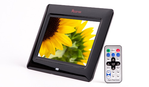 Xelectron 7 Inch Digital Photo Frame With Remote Digital Picture