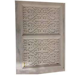 Natural Colours Stone Jali Window Grill, For Indoor, Rectangle