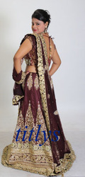 Zardosi Work Bridal Lehenga