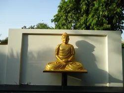 Handecor Fiber Buddha Statue