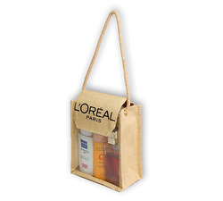 Jute Perfume Cosmetic Gift Bag