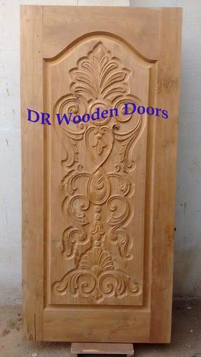 Designer Wooden Door Teak Wood Carving Door Manufacturer
