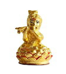 Murli Bal Krishna - Gold Coated