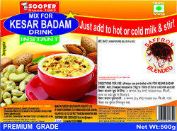 Sooper Mix for Badam Drink 500g, Pack Type: Pouch