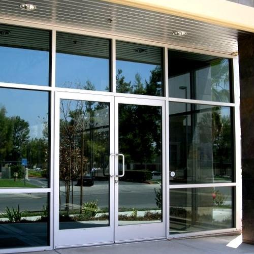 Swing Aluminum Frame Glass Door Rs 180 Square Feet