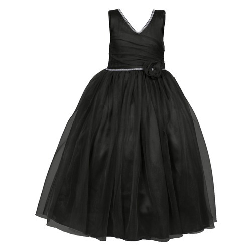 Cotton Baby Girl Black Party Wear Long Frock Rs 1499 Piece Id
