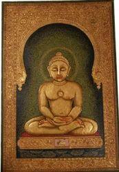 Mahaveer Swami Painting
