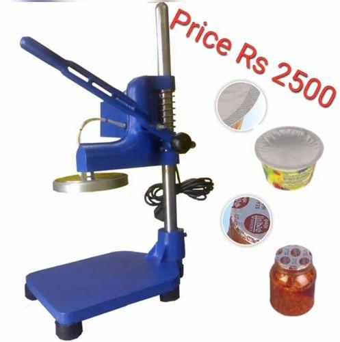 Jar Sealing Machine At Rs 2500 Piece सील मशीन Packing