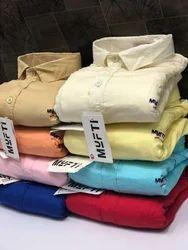Cotton Collar Neck Mufti Shirt