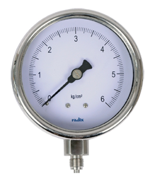 Industrial Pressure Gauges - Bourdon Tube Type
