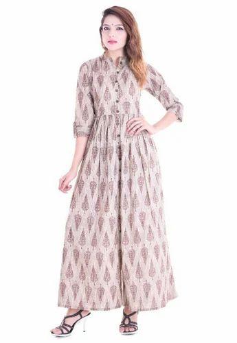 de5af0c7aa Cotton Floor Length Gown
