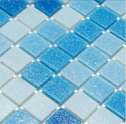Random Mix Glass Mosaic Tiles For Swimming Pool