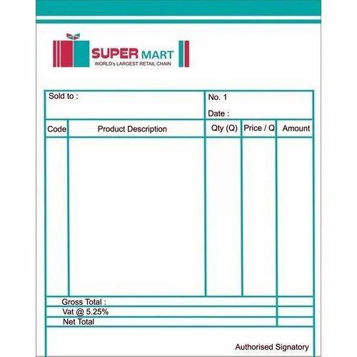 bill book printing service bill book printing services shafiq