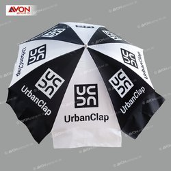 Black & White Garden Umbrella
