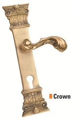 Brass Mortise - Crown