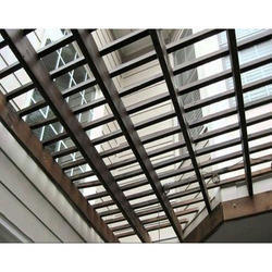 Transparent Roofing Shed