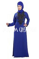 Dubai Style Kaftan Farasha Jalabiya Maxi Dress