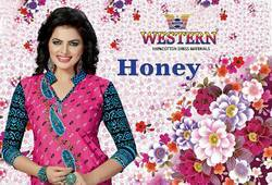 Cotton Printed Unstiched Salwar Suits
