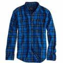 Mens Designer Cotton Checked Shirt