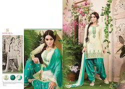 Cotton Embroidered Work Stylish Salwar Suit