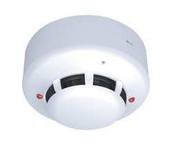 Dc Supply Photoelectric Smoke Detector, For Commercial, Size: 5