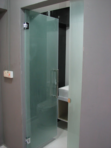 awesome bathroom glass doors gallery - home decorating ideas
