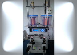 Automatic Dual Spindle CNC Coil Winding Machine (Front Load)