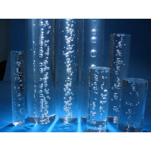 Acrylic Rods Acrylic Bubble Rod Manufacturer From Ahmedabad
