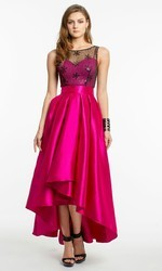 Sleeveless Evening Gowns