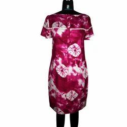 Printed Party Wear Ladies Dress