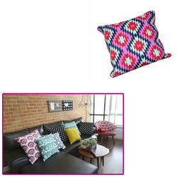 Printed Cushion for Sofa